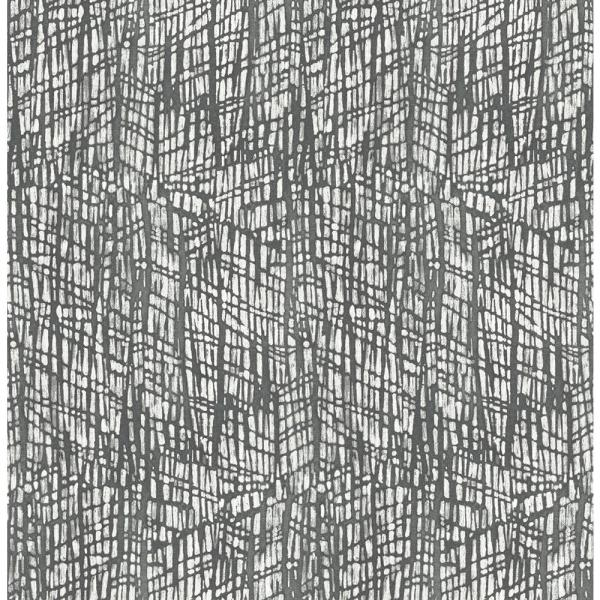 A-Street 8 in. x 10 in. Shimmer Grey Abstract Texture Wallpaper