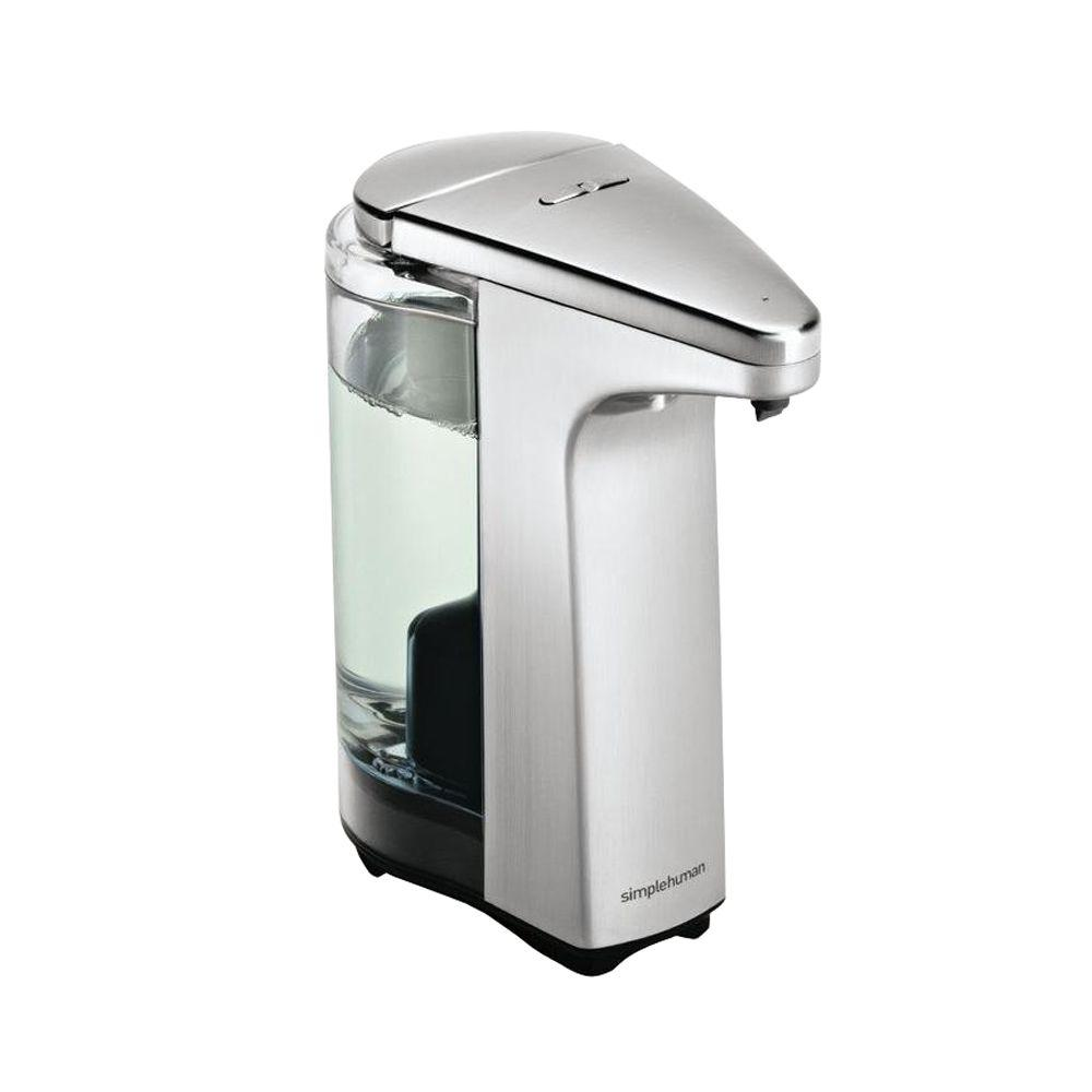 Simplehuman 8 Fl Oz Compact Brushed Nickel Sensor Pump