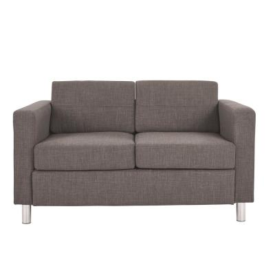 Pacific Cement Fabric LoveSeat