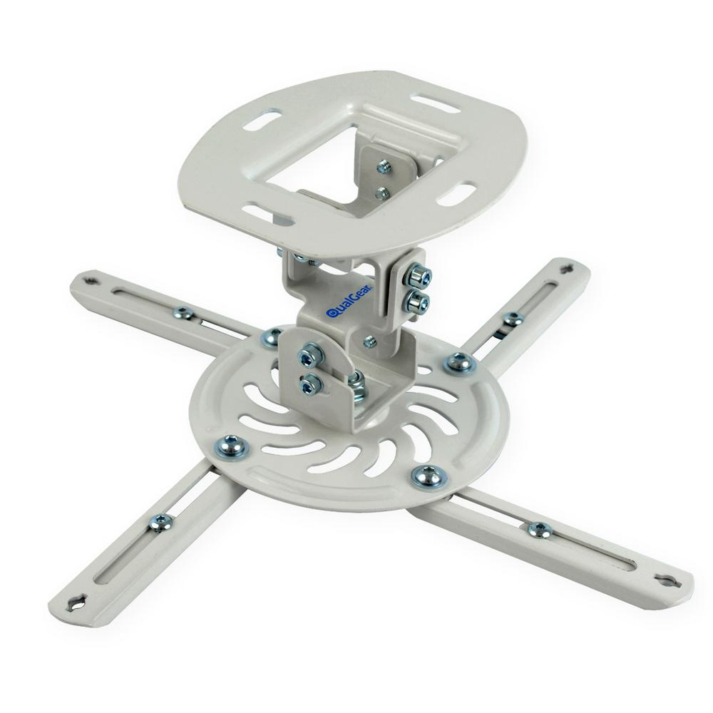 Low Profile Projector Ceiling Mount White