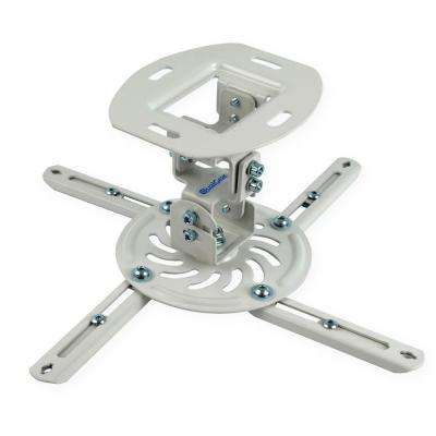 Low-Profile Projector Ceiling Mount, White