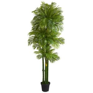 Indoor 7.5 ft. Phoenix Artificial Palm Tree