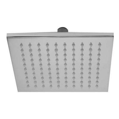 1-Spray 8 in. Fixed Showerhead with LED Lighting in Polished Chrome