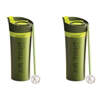 2-Piece Lime 17 oz. Fresh N Go Tumbler Set