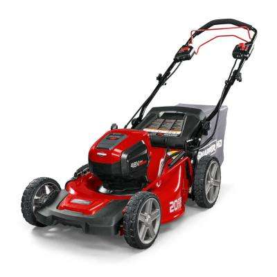 HD 20 in. 48-Volt Lithium-Ion Cordless Battery Walk Behind Self Propelled Push Mower Battery/Charger Not Included