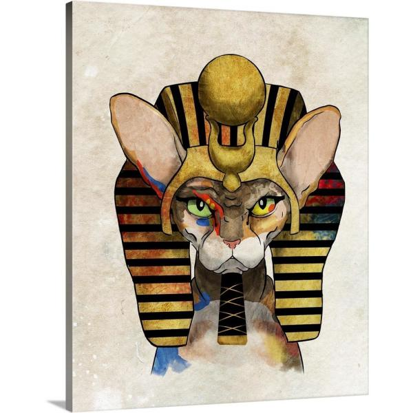 GreatBigCanvas ''Cleocatra'' by Inner Circle Canvas Wall Art 2420077_24_24x30