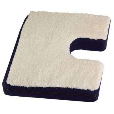 Bariatric Coccyx Gel Seat Cushion with Fleece Top
