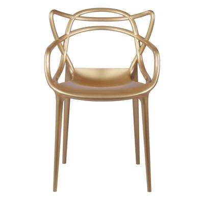 Gold Brand Name Dining Chair