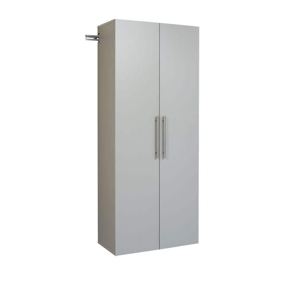 W Storage Cabinet In Light Gray