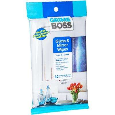 Glass and Surface Wipes (30-Count)