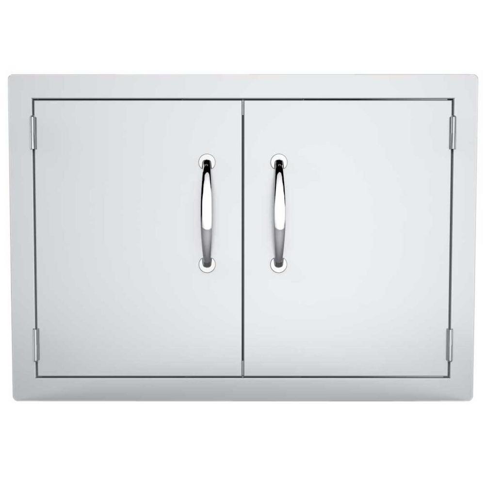 Classic Series 30 in. 304 Stainless Steel Double Access Door