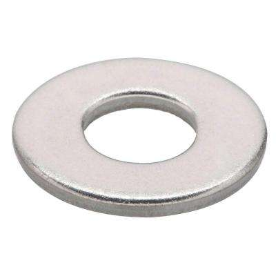 #10 Stainless-Steel Flat Washer (50-Piece per Pack)
