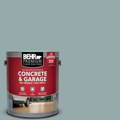 1 gal. #PFC-46 Barrier Reef Self-Priming 1-Part Epoxy Satin Interior/Exterior Concrete and Garage Floor Paint