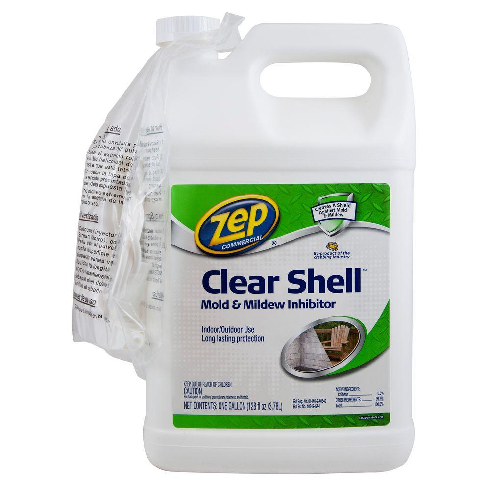 ZEP 128 oz. Clear Shell Mold and Mildew Inhibitor (Case of 4)