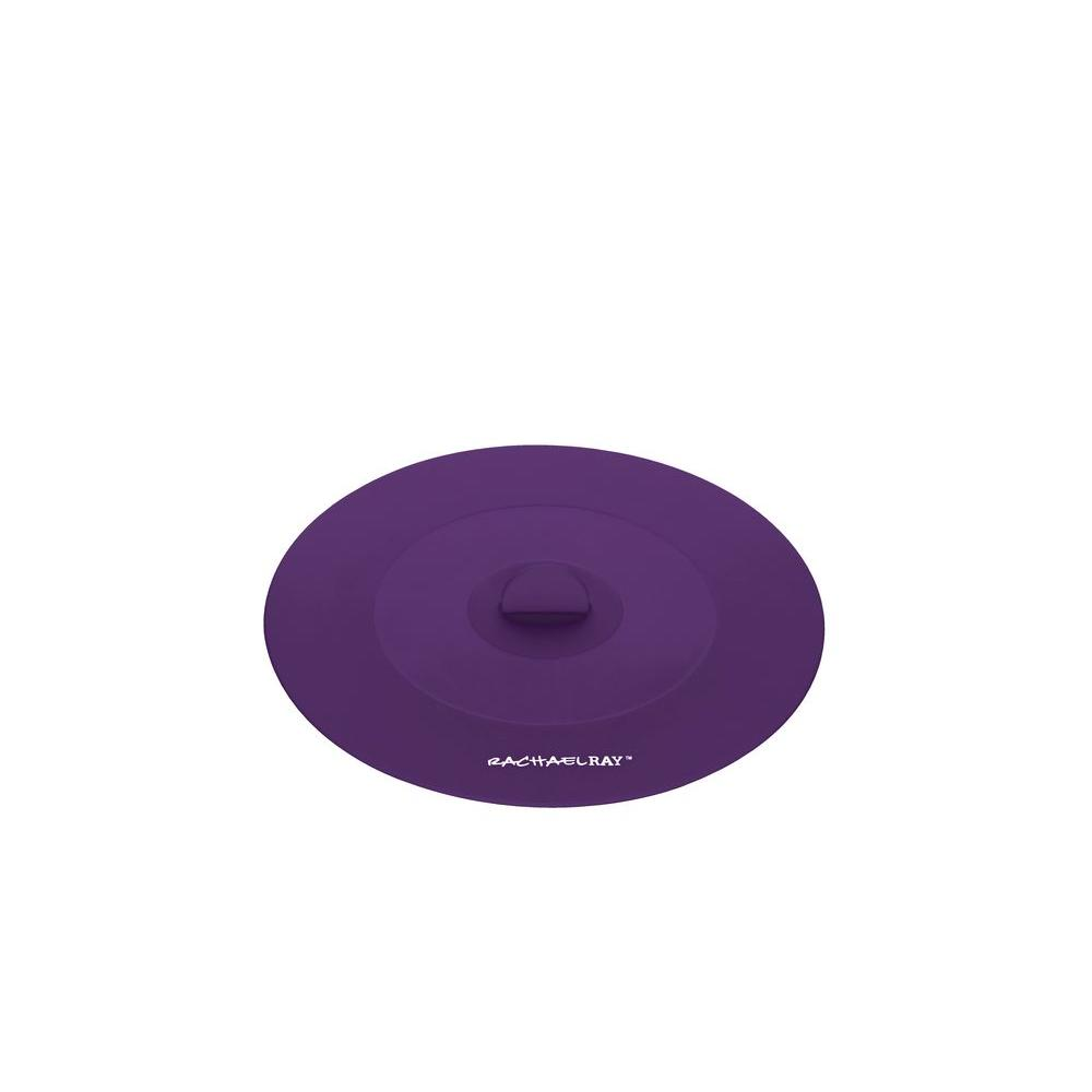 Rachael Ray Tools and Gadgets 7.5 in. Small Suction Lid in Purple