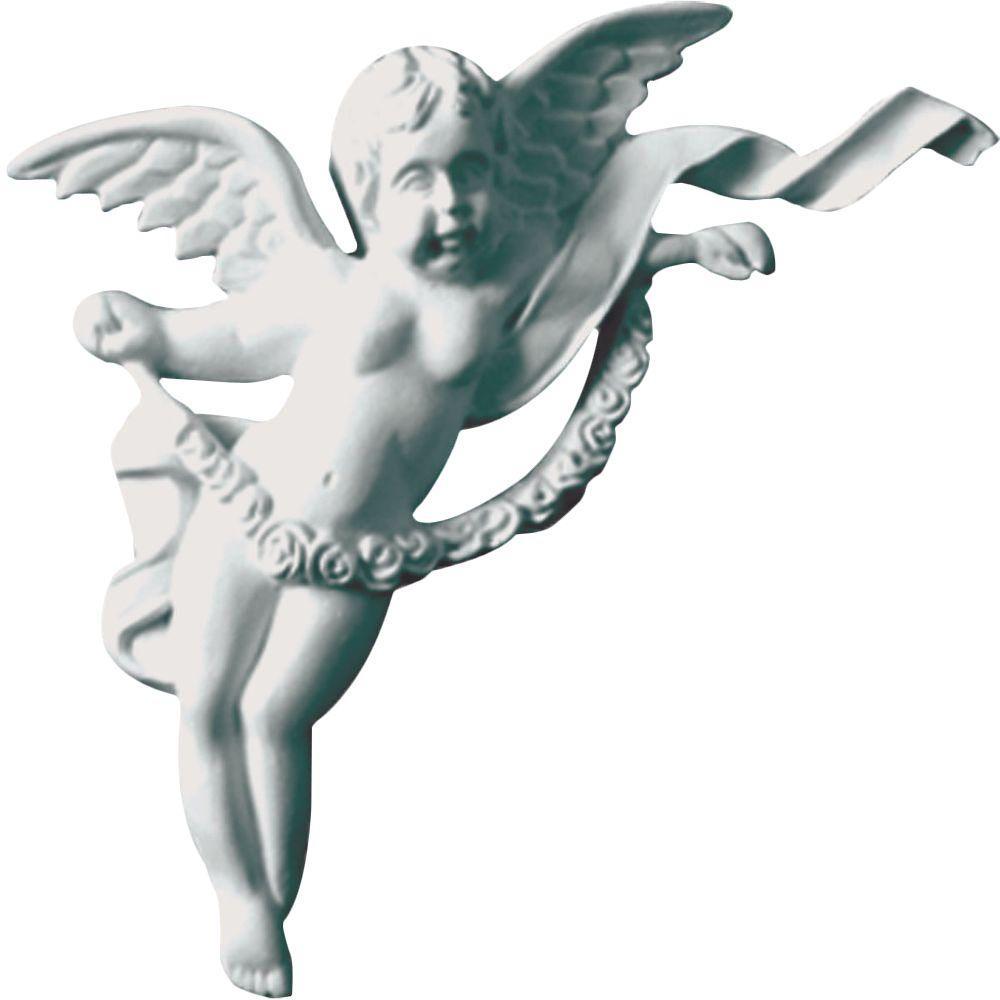1-1/8 in. x 5-1/8 in. x 6-5/8 in. Polyurethane Left Angel Onlay Moulding