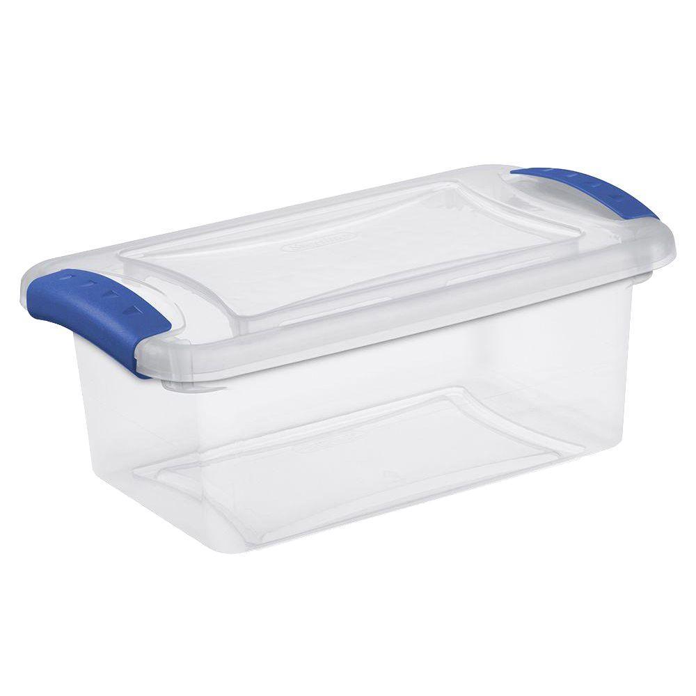 Sterilite 7 qt. Latch Storage Box (14-Pack)-19220414 - The ...