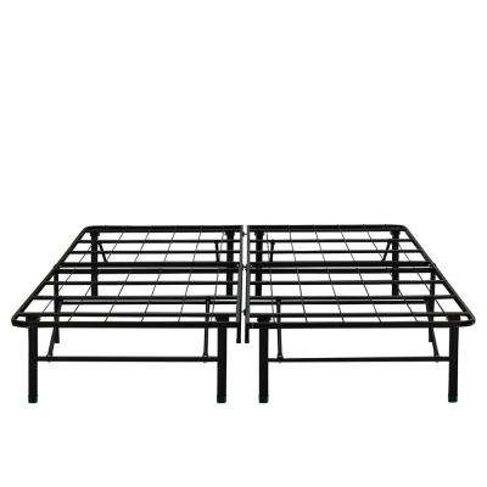 14 in. Full Metal Platform Bed Frame