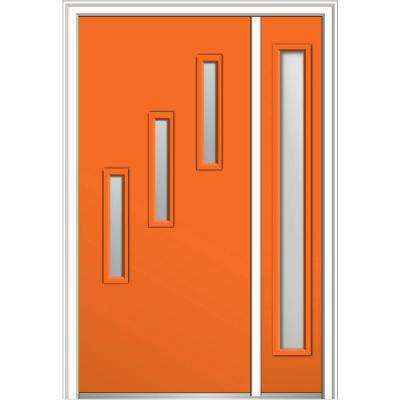 Orange Front Doors Exterior Doors The Home Depot