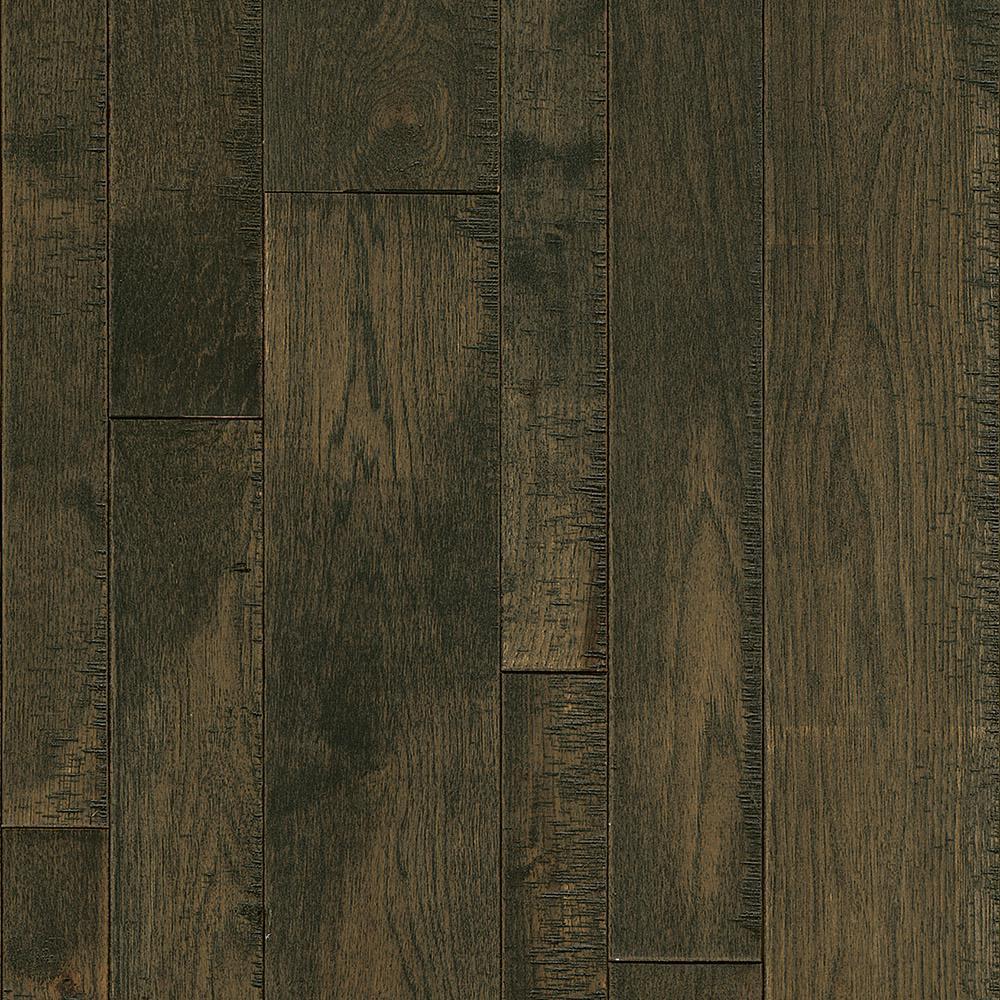 Bruce Revolutionary Rustics Hickory Smoke Run 3/4 in. T x Varying W x Varying L Solid Hardwood Flooring (24 sq.ft./case)