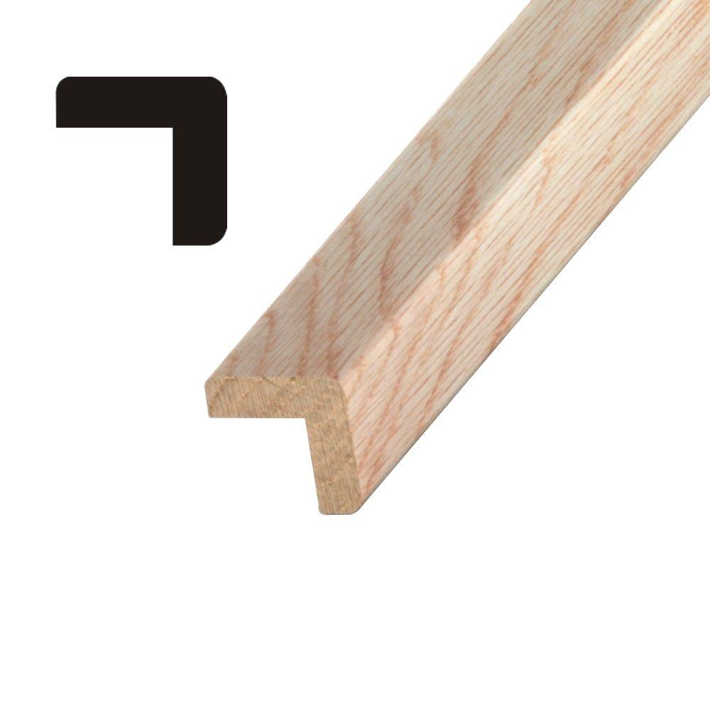 OP 206 3/4 in. x 3/4 in. Oak Outside Corner Guard