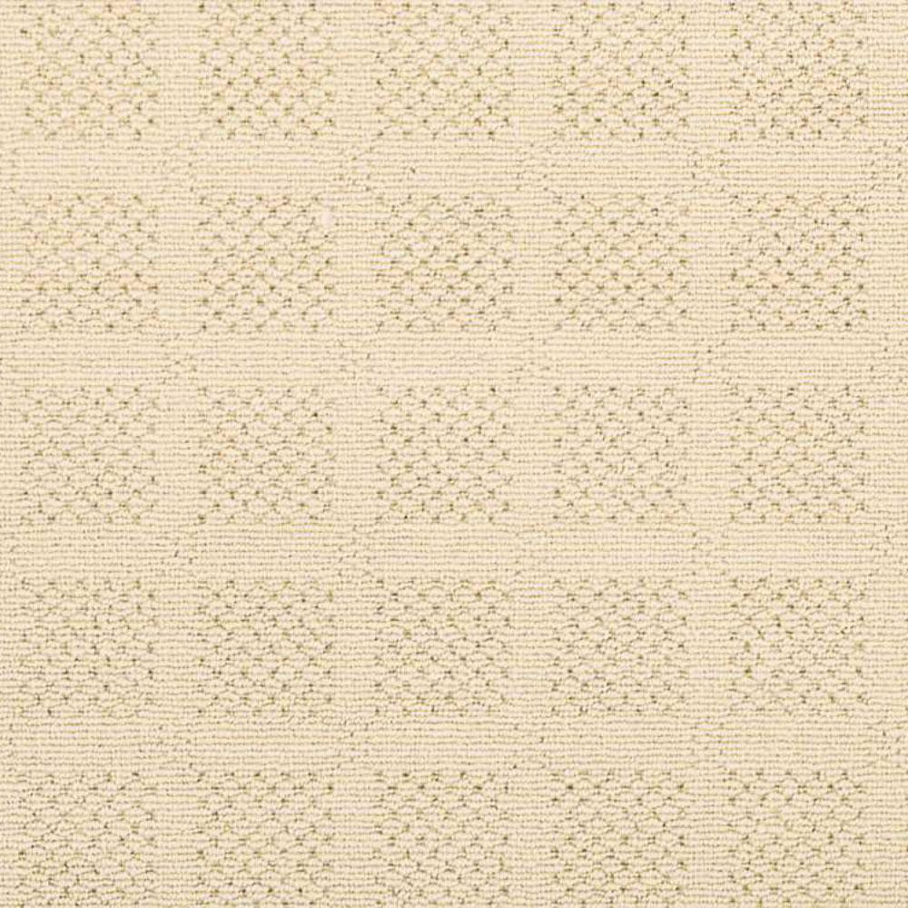Carpet Sample - Desert Springs - Color Eggshell Loop 8 in. x 8 in.
