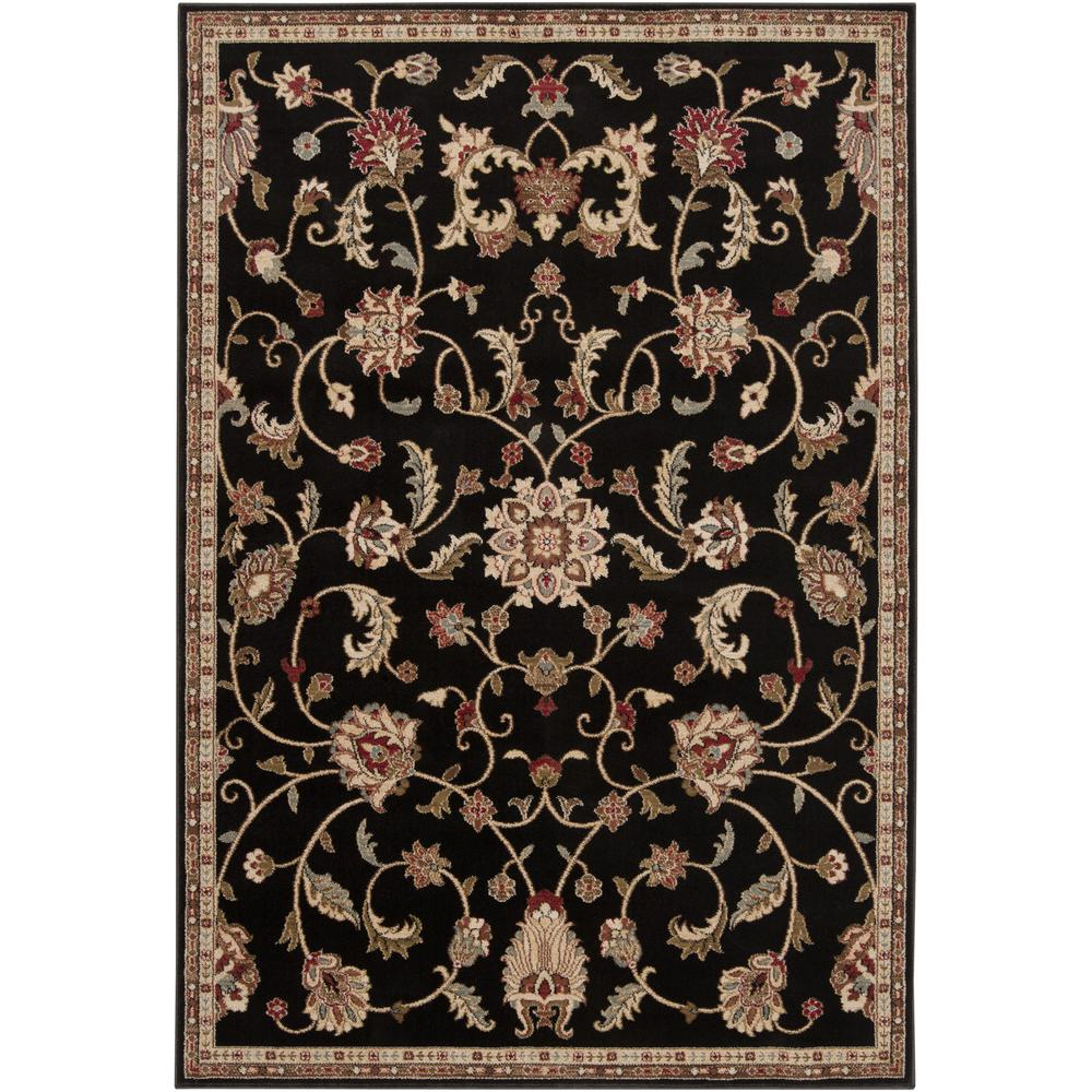 Artistic Weavers Sabin Black 2 ft. x 3 ft. Indoor Area Rug