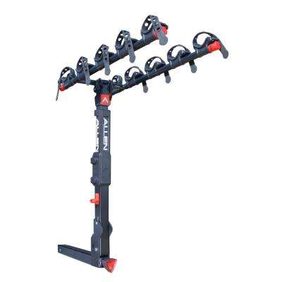 175 lbs. Capacity Locking 5-Bike Vehicle 2 in. Hitch Premier Bike Rack
