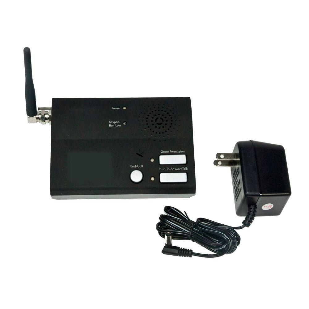 Mighty Mule Additional Intercom Base Station Unit for FM136 Wireless Intercom Keypad