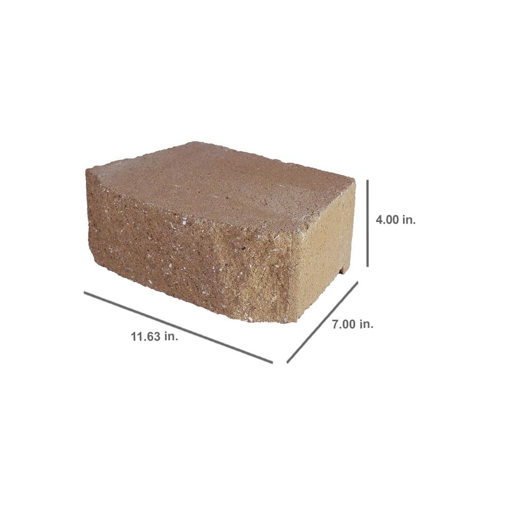 Pavestone 12 4 In X 11 63 In X 6 75 In Buff Concrete