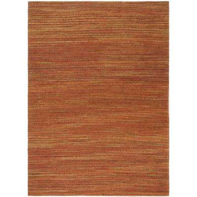 Cape Cod Rust 8 ft. x 10 ft. Area Rug