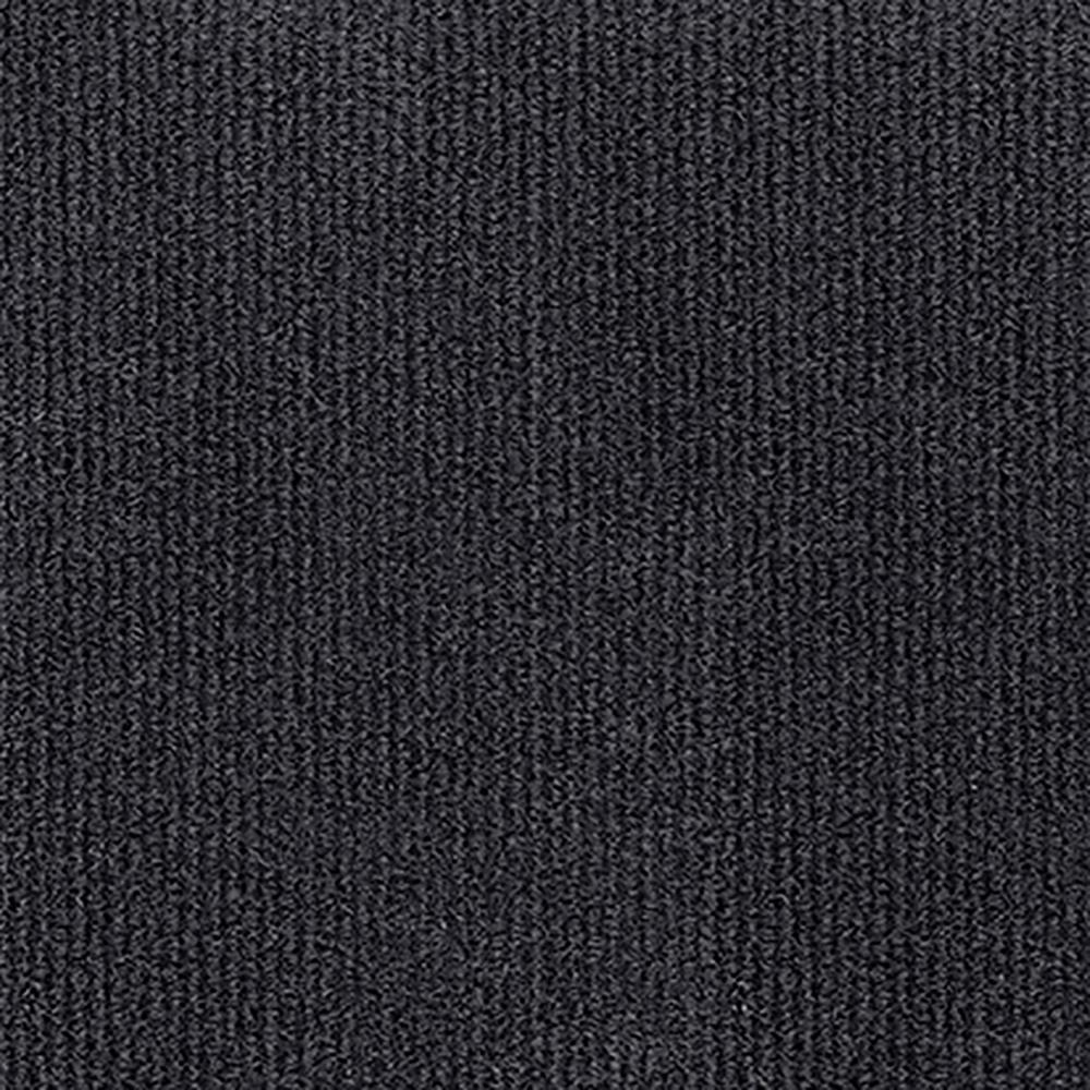 Design Smart Black Ice Rib Texture 18 in. x 18 in.