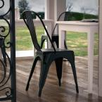 Poly and Bark Trattoria Black Side Chair (Set of 4)