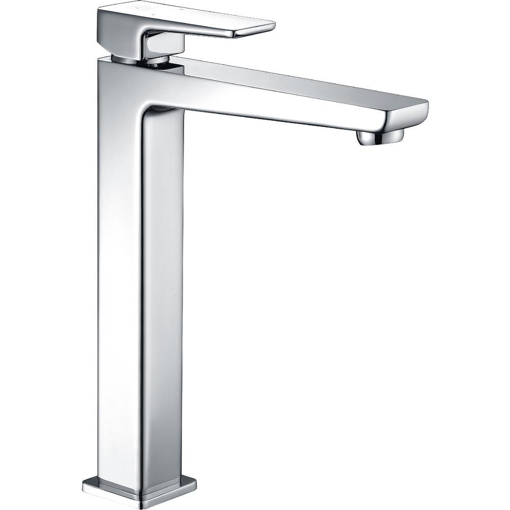 ANZZI Valor Single Hole Single-Handle Bathroom Faucet in Polished Chrome