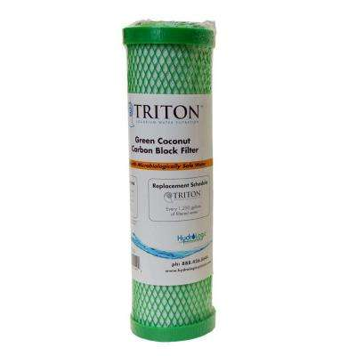 Replacement Green Coconut Carbon Block Filter