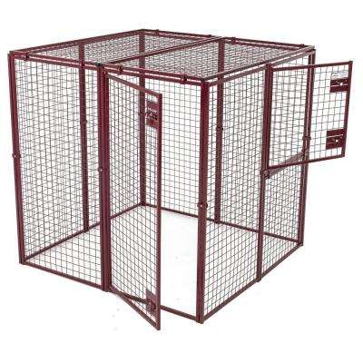 Animal House Heavy Duty 60 in. L x 60 in. W x 60 in. H Flat Covered Enclosure