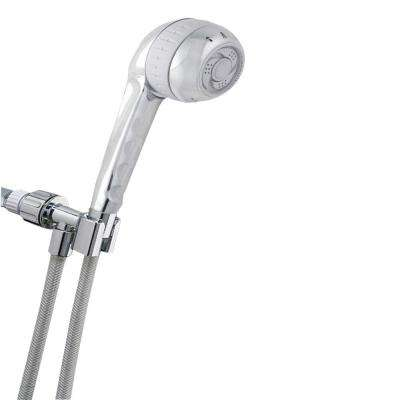 Original Shower Massage 4-Spray Hand Shower in Chrome