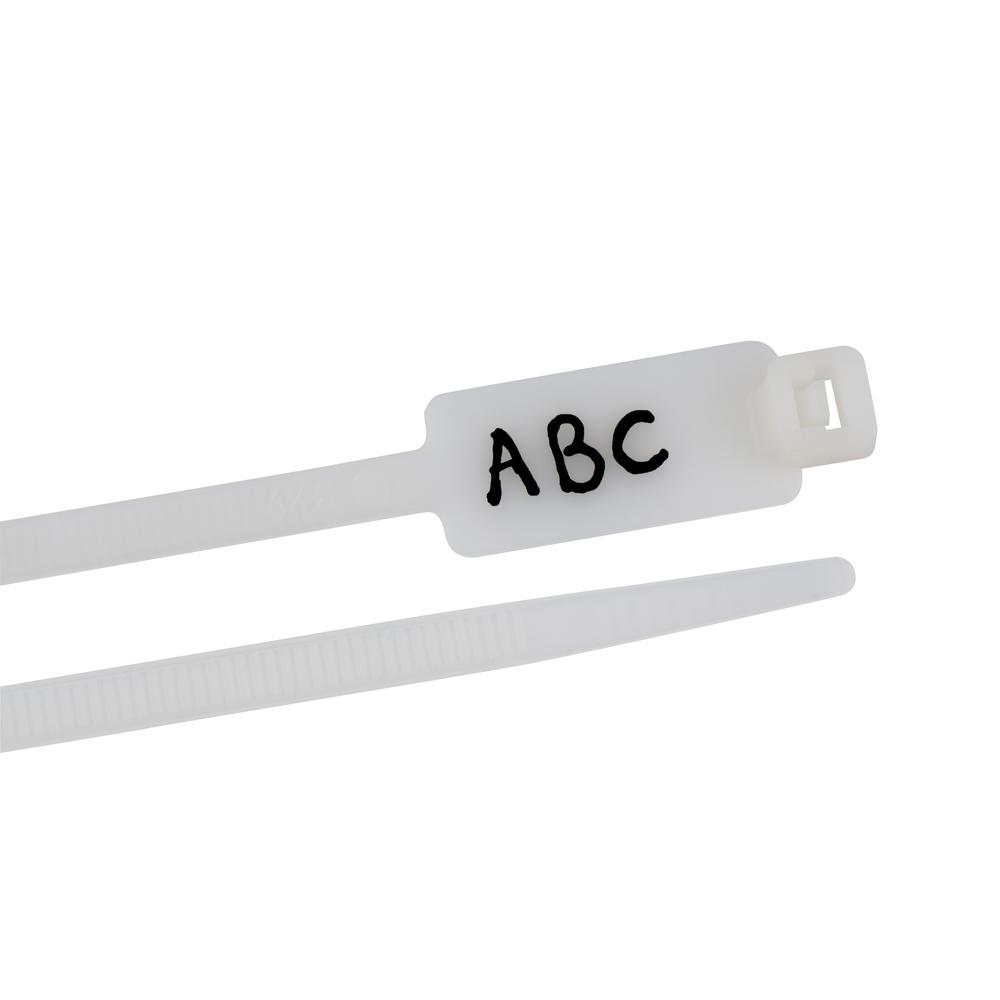 Commercial Electric 8 in. Cable Ties (25-Pack)