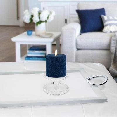 3 in. x 3 in. Timberline Abyss Pillar Candle