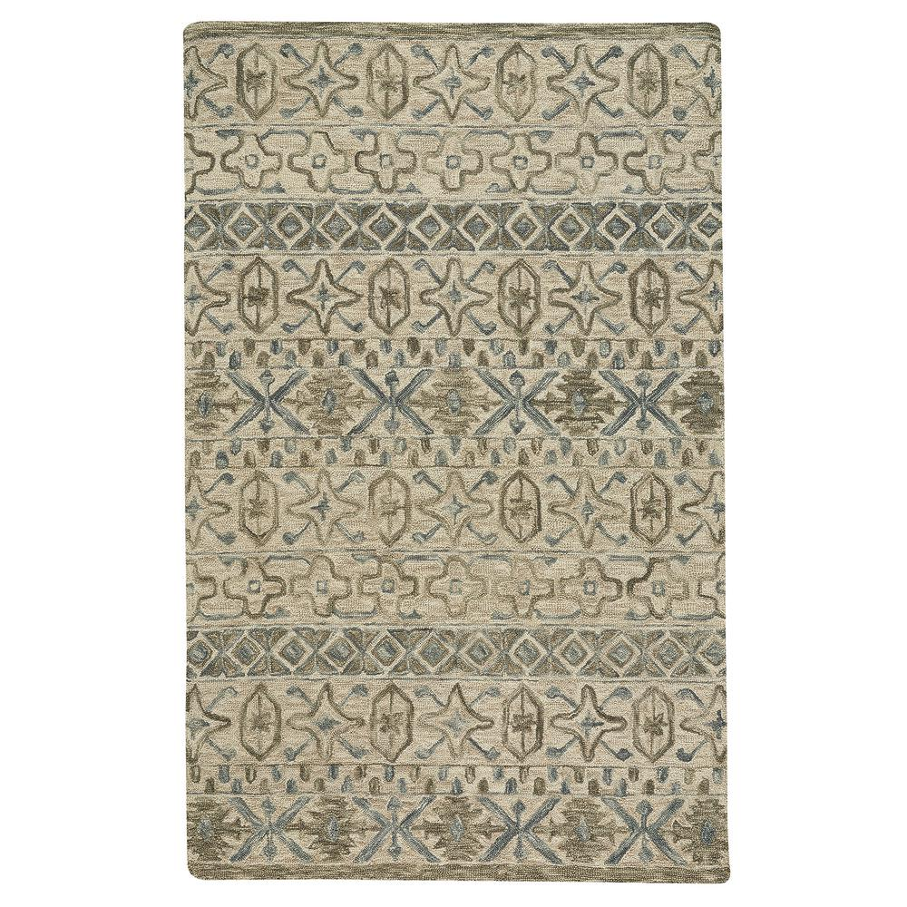 Capel Lincoln Buff Blue 4 ft. x 6 ft. Area Rug Capel Lincoln Buff Blue 4 ft. x 6 ft. Area Rug