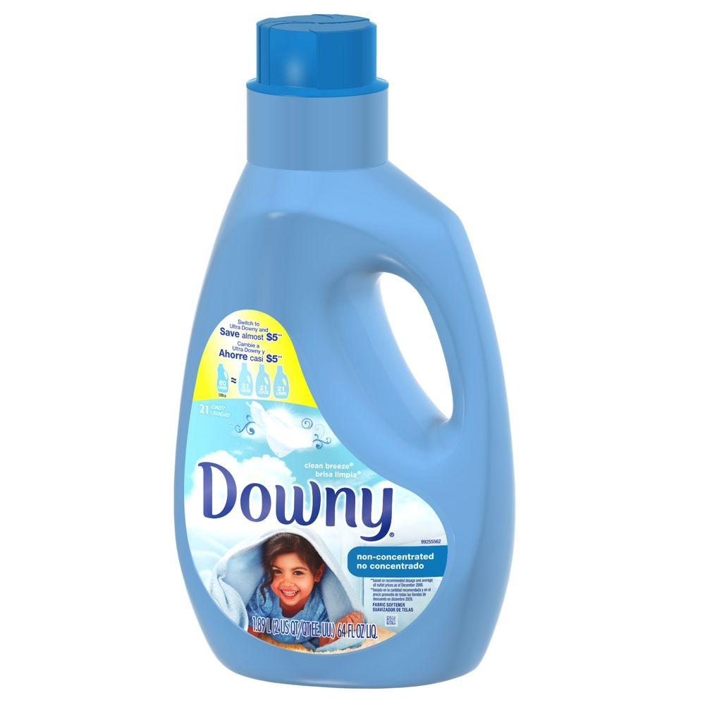 64 oz. Non-Concentrated Fabric Softener with Clean Breeze Scent