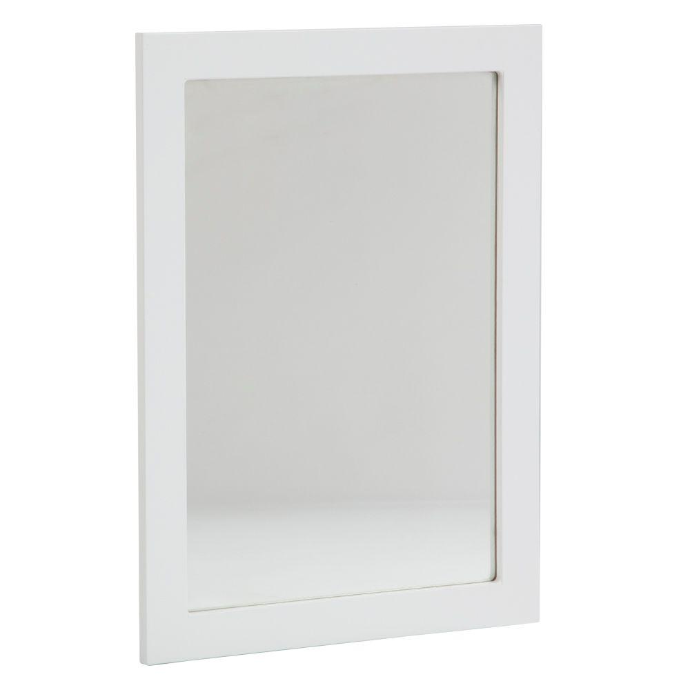Lancaster 20 in. L x 27 in. W Framed Wall Mirror