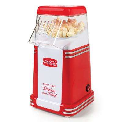 Coca-Cola 2 oz. Red Mini Countertop Popcorn Machine