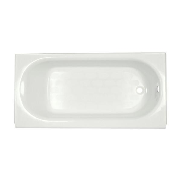 Princeton 60 in. Right Hand Drain Recess Bath For Above Floor Installation in White