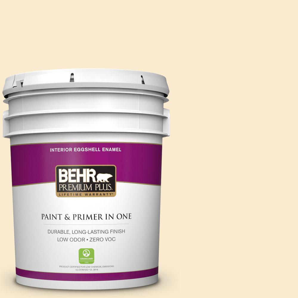5-gal. #OR-W4 Nice Cream Eggshell Enamel Interior Paint