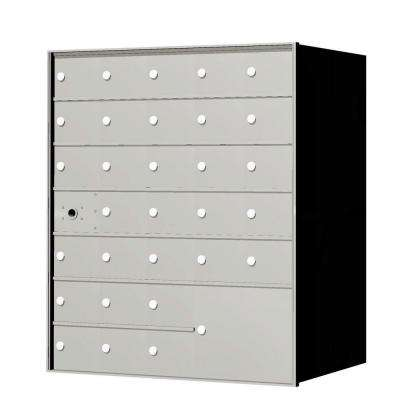 1,400 Series 30-Compartment Recess-Mount Horizontal Mailbox