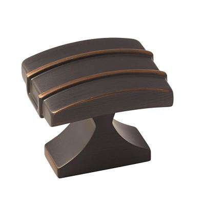 Davenport 1-1/2 in. (38 mm) Oil-Rubbed Bronze Cabinet Knob