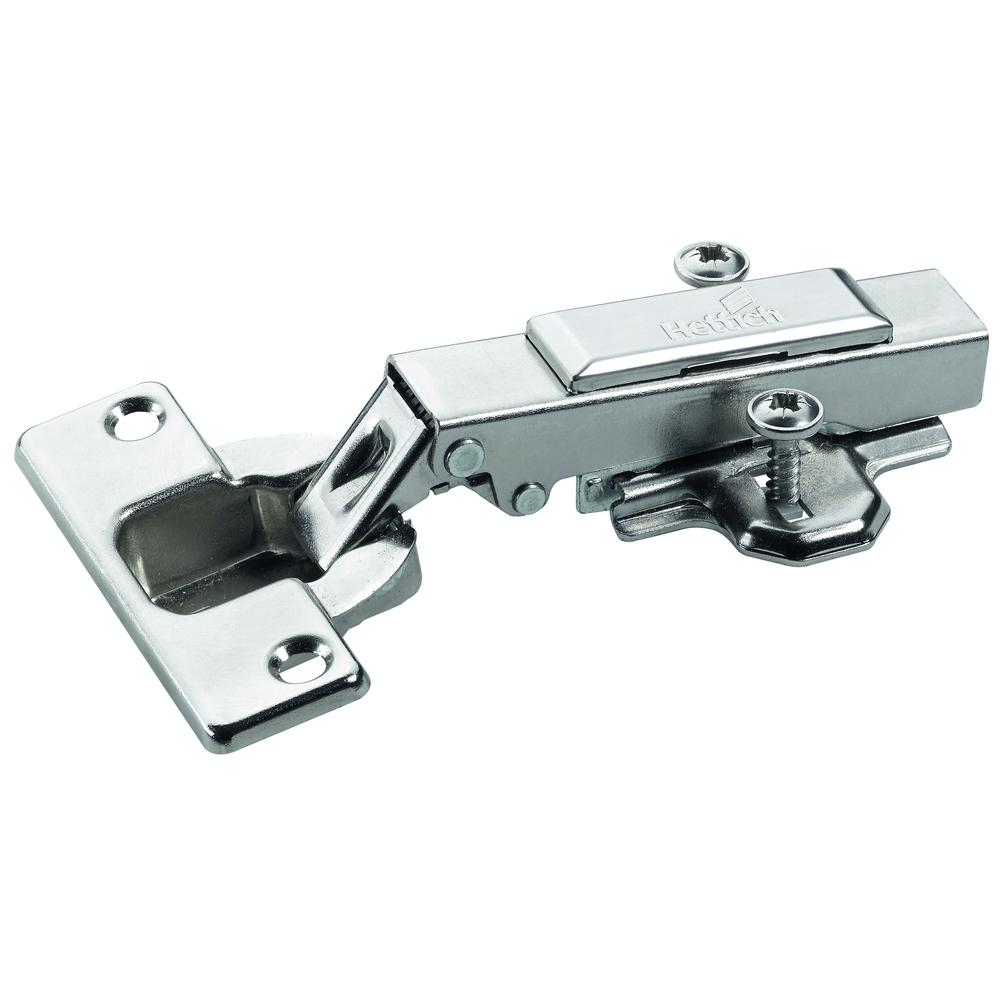 Hettich Concealed Full Overlay 1 3 8 In 35mm Cup Frameless Hinge Clip On Hinge Arm 10 Pack