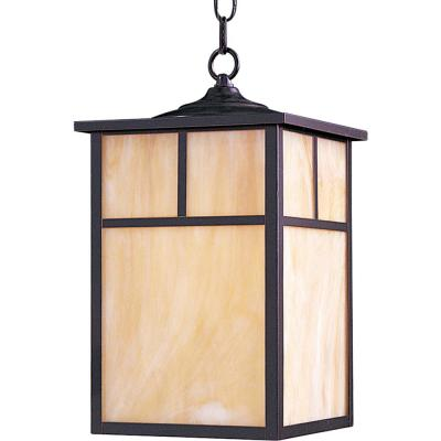 Coldwater 9 in. Wide Black 1-Light Outdoor Hanging Lantern