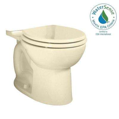 Cadet 3 FloWise Tall Height Round Toilet Bowl Only in Bone
